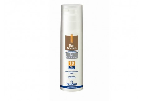 Frezyderm Sunscreen Tan Accelerator SPF 10 150ml
