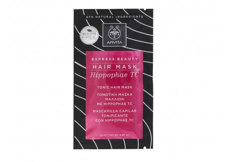 Apivita Express Beauty Τονωτική Μάσκα Μαλλιών 20 ml