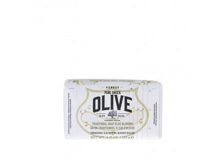 Κορρες Pure Greek Olive Σαπούνι με Άνθη Ελιάς 125 gr