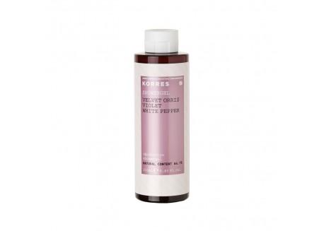Κορρες Αφρόλουτρο Velvet Orris-Violet-White Pepper 250 ml