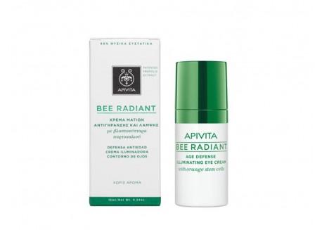 APIVITA Bee Radiant Κρέμα Ματιών Αντιγήρανσης και Λάμψης 15 ml
