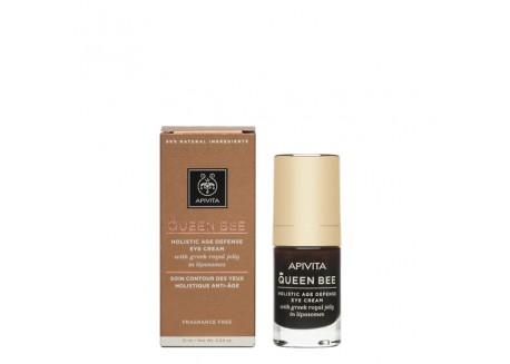 APIVITA Queen Bee Kρέμα Ματιών Ολιστικής Αντιγήρανσης 15 ml