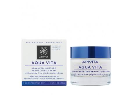 APIVITA aqua vita για λιπαρές-μικτές επιδερμίδες 50 ml