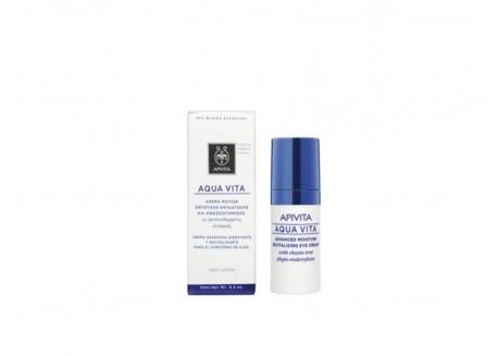APIVITA Aqua Vita Κρέμα Ματιών 15 ml