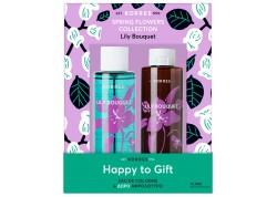 ΚΟΡΡΕΣ Eau de Cologne Lily Bouquet 100 ml & Δώρο Αφρόλουτρο 250