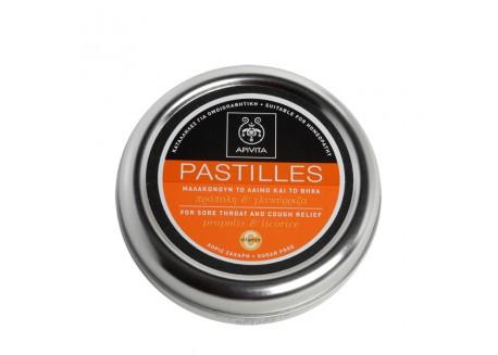 APIVITA Παστίλιες με γλυκόριζα & πρόπολη 45g
