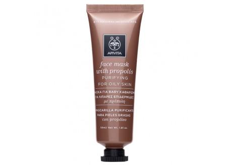 APIVITA Face Mask για βαθύ καθαρισμό με πρόπολη 50 ml