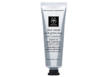 APIVITA Face Mask για Βαθύ Καθαρισμό με πράσινη άργιλο 50 ml