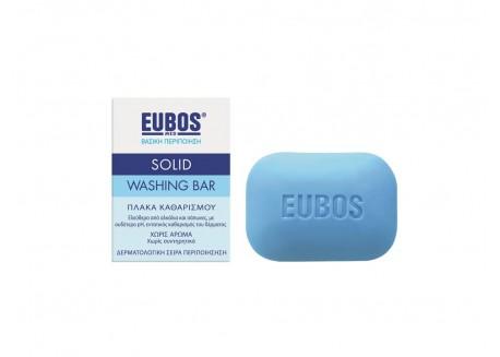 EUBOS Πλάκα καθαρισμού (μπλε) 125 gr