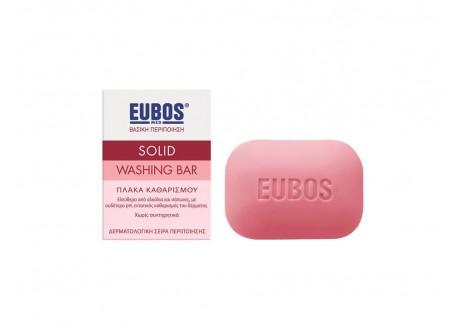 EUBOS Πλάκα καθαρισμού (ροζ) 125 gr