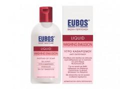 EUBOS Υγρό καθαρισμού (ροζ) 200 ml