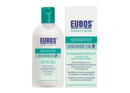 EUBOS Sensitive Shower Oil F 200 ml