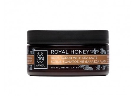 APIVITA Royal Honey Scrub Σώματος με Θαλάσσια Άλατα 250 gr
