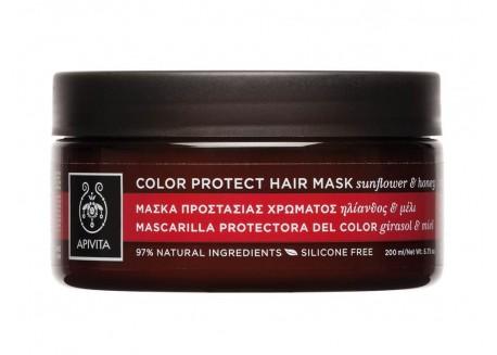 Apivita Μάσκα για βαμμένα μαλλιά 200 ml