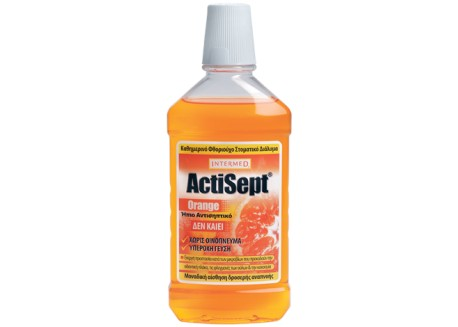 INTERMED ActiSept Mouthwash Πορτοκάλι 500 ml