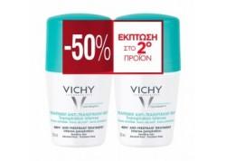 Vichy Deo BILLE 2PACK για έντονη εφίδρωση -50% στο δεύτερο προϊό