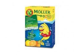 Moller's Μουρουνέλαιο Ω3 Λιπαρά Οξέα για παιδιά