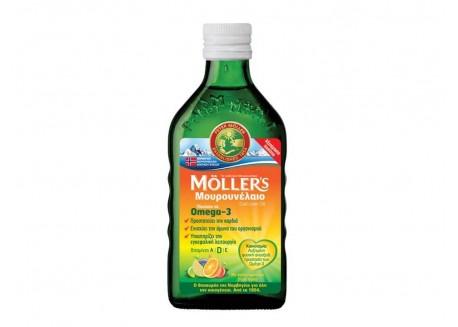 Moller's Μουρουνέλαιο Tutti Frutti 250 ml
