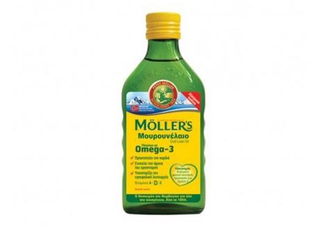 Moller's Μουρουνέλαιο Natural 250 ml