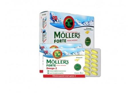 Moller's Μουρουνέλαιο Forte Omega-3 150 caps