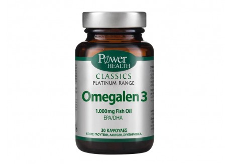 Power Health Platinum Omegalen 3 30 κάψουλες