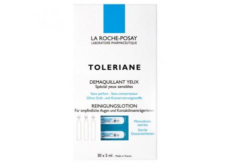 La Roche Posay Toleriane Ντεμακιγιάζ ματιών 30x5ml