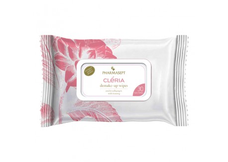Cleria Demake-up Wipes 30 τεμάχια