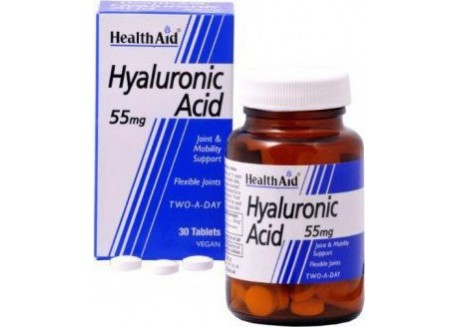 HealthAid Hyaluronic Acid 55 mg 30 tabs