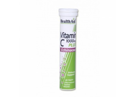 HealthAid Vitamin C 1000 mg Echinacea 20 tabs