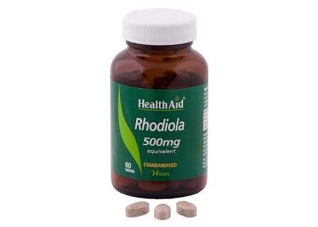 HealthAid Rhodiola 500 mg 60 tabs