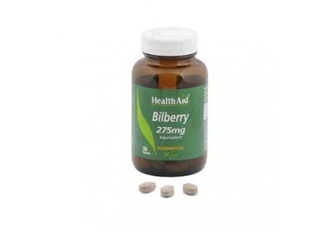 HealthAid Bilberry 275 mg 30 tabs