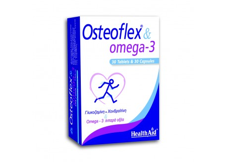 HealthAid Osteoflex & Omega-3 30 tabs + 30 caps