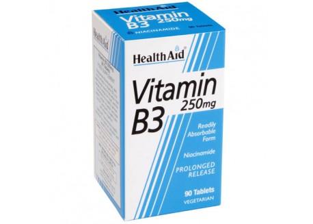 HealthAid Vitamin B3 250 mg 90 tabs