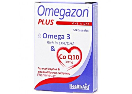 Healthaid Omegazon Plus (Ω3 + CoQ10) 30 caps
