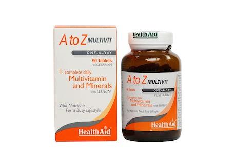 HealthAid A Tο Z Multivit 90 tablets