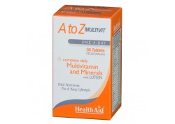 HealthAid A To Z Multivit 30 tablets