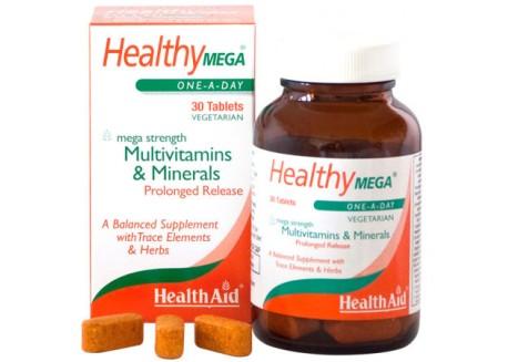 HealthAid Mega Multivitamin and Mineral Prolonged Release 30 tab