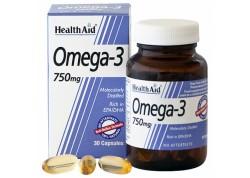 HealthAid Omega 3 750 mg (EPA 425mg, DHA 325mg) 30 caps