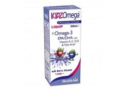 HealthAid KIDZ Omega -liquid βατόμουρο 200 ml