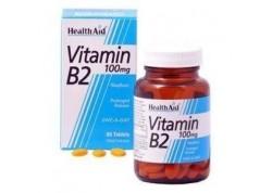 HealthAid Vitamin B2 (Riboflavin) 100 mg 60 tabs