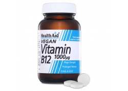 HealthAid Vitamin B12 1000μg Prolonged Release 50 tabs
