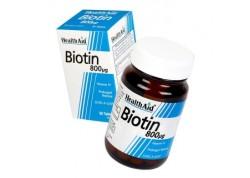 HealthAid Biotin 800 μg 30 tabs