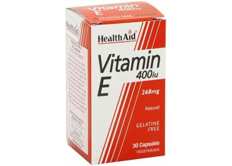 HealthAid Vitamin E 400iu 30 caps