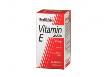 HealthAid Vitamin E 200iu 60 caps