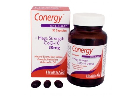 HealthAid Conergy CoQ-10 30 mg 30 caps