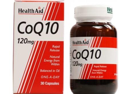HealthAid CoQ-10 120 mg 30 caps