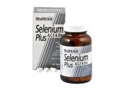 HealthAid Selenium Plus (Vitamins A, C, E & Zinc) 200 mg 60 tabs