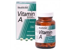HealthAid Vitamin A 5000 iu 100 caps