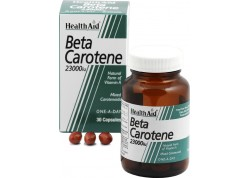 HealthAid Beta-Carotene Natural 15 mg 30 caps