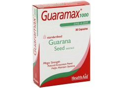 HealthAid Guaramax Guarana 1000 mg 30 caps